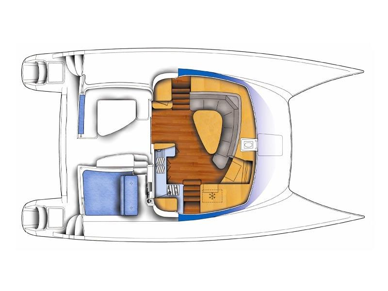 Le Catamaran Voiles Caraibes Catamaran D Hotes