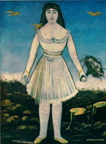 Niko_Pirosmani_Margarita_1909