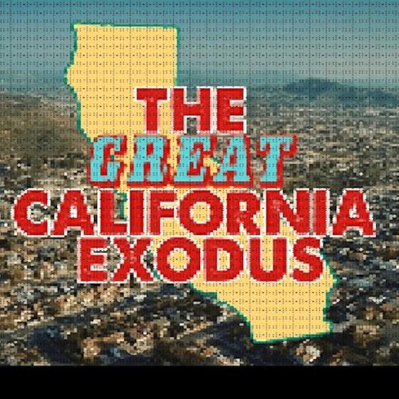 Калифорния, консерватори, бягство, миграция, САЩ