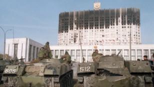 расстрел парламента
