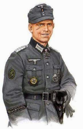 боец подразделения Бранденбург 800