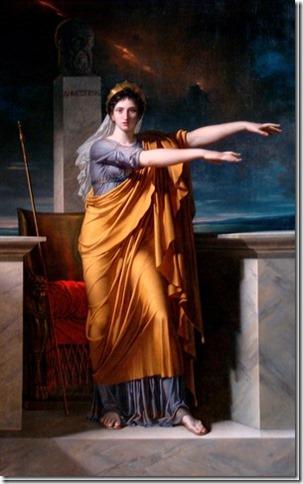 Polymnie, Muse de la Rhétorique par Ch. Meynier