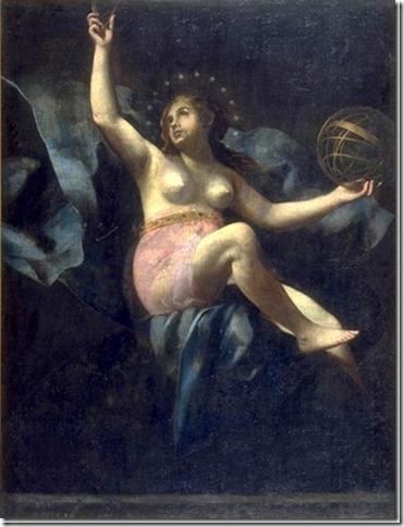 Uranie, Muse de l'Astronomie et de l'Astrologie par Giovanni Baglione
