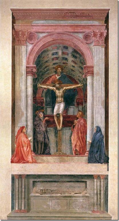 La Trinité, Masaccio, Santa Maria Novella, Florence