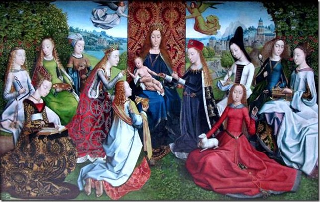 La Vierge parmi les vierges