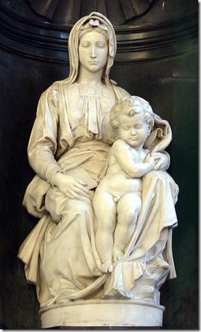 Vierge de Bruges par Michel Ange