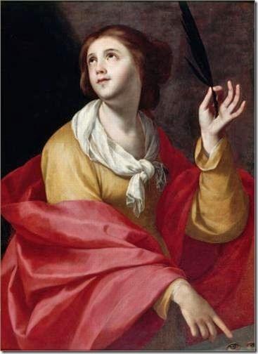 Sainte Lucie, Francisco de Zurbarán