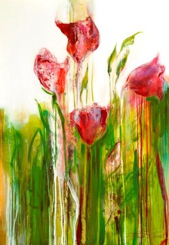 Tulips in Nana´s Garden