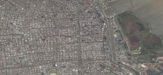 Vue aérienne de Buenos Aires [http://bing.com]