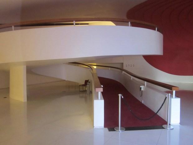 Rampe de l'intérieur de l'Auditorium