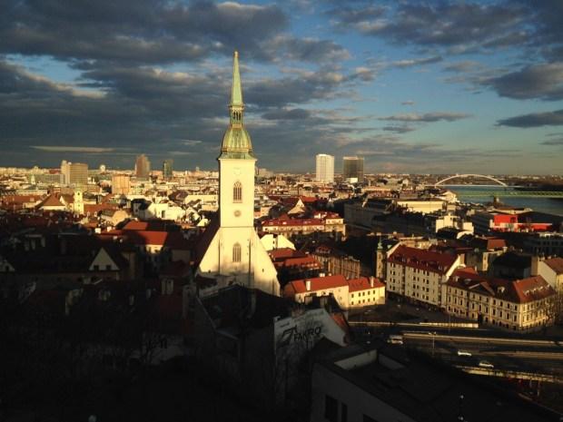 Vue de la vieille ville depuis le château