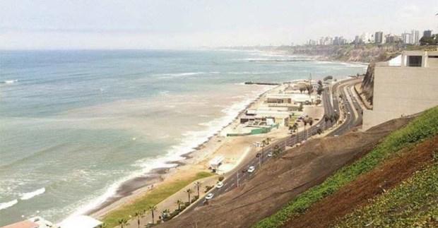 La côte de Lima
