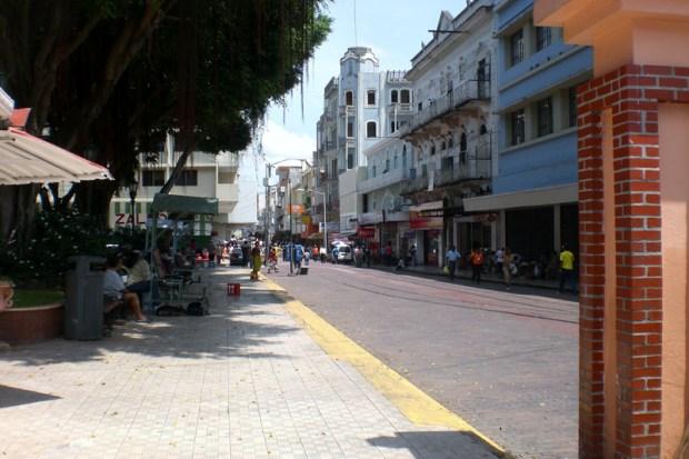 Una de las calles del barrio