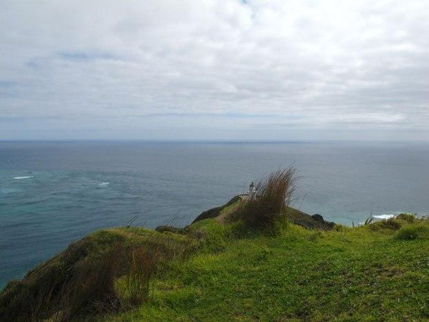 La rencontre des deux eaux au Cape Reinga