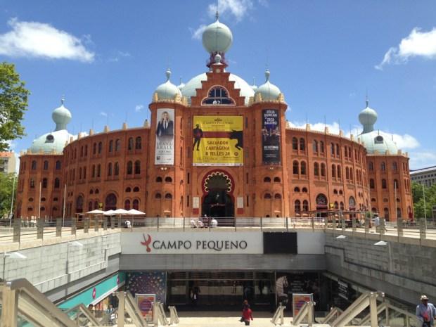 entrée principale du CAMPO PEQUENO