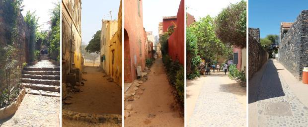 Typologie de ruelle de Gorée