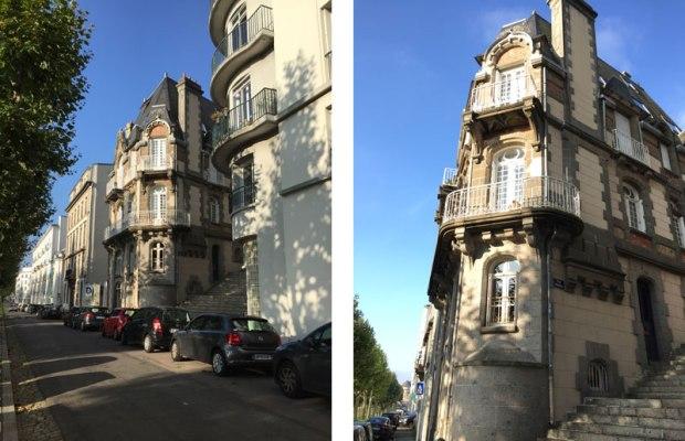 Un des sept témoins du passé, une maison datant probablement du début du XXème siècle.