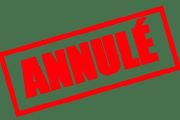Annulation vente de printemps Voisinage Tyrosse