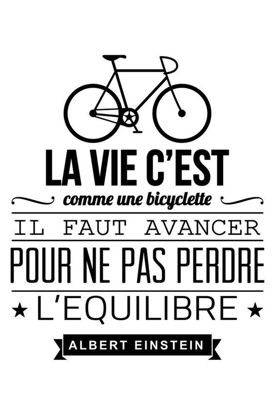 La Vie C Est Comme Une Bicyclette : comme, bicyclette, C'est, Comme, Bicyclette...