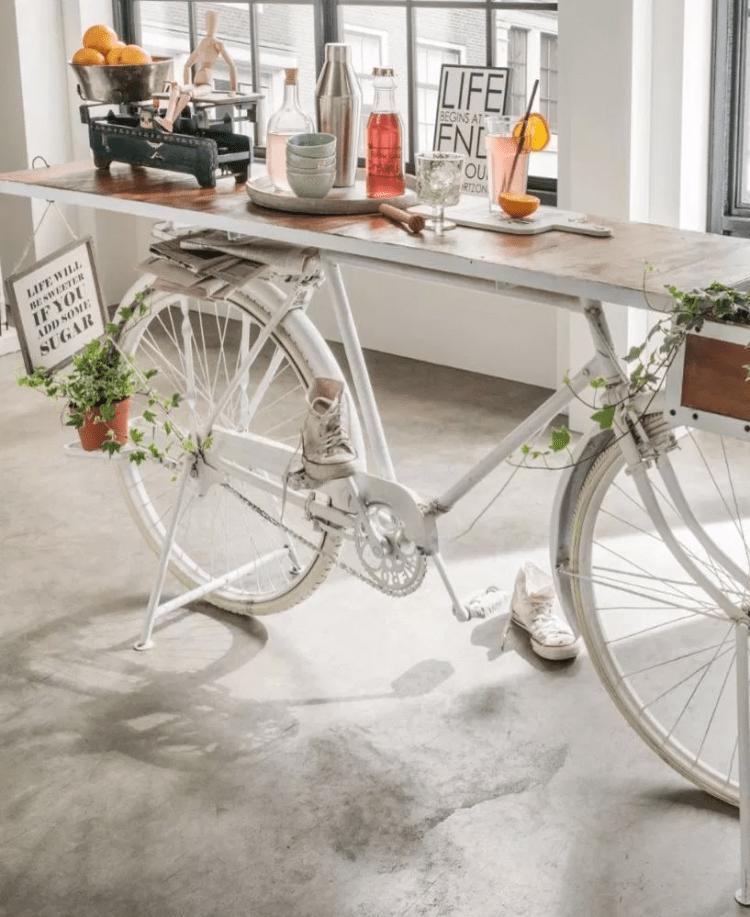 vélo table