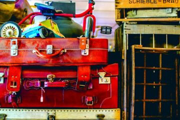 objets vintage à l'association Voisinage