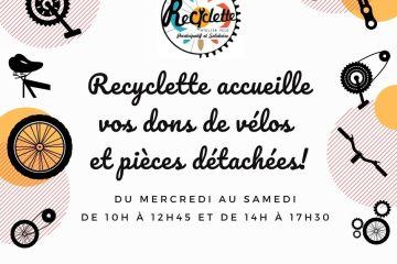 Accueil de dons Recyclette