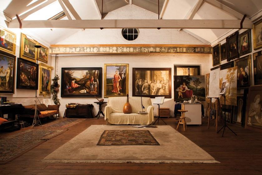Giorgione's studio at Clapton's Tram Depot by Tilley Harris & Alex Pielak The Deserted Village, Photomonth 2014 (© Voist Ltd.)