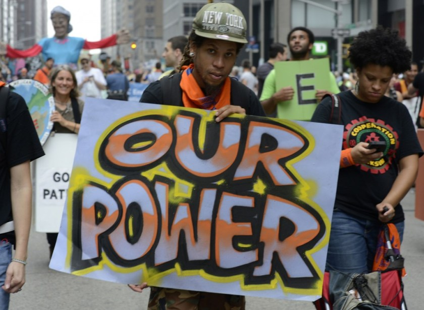 2014 People's Climate March NYC 20 (by Stephen Melkisethian)
