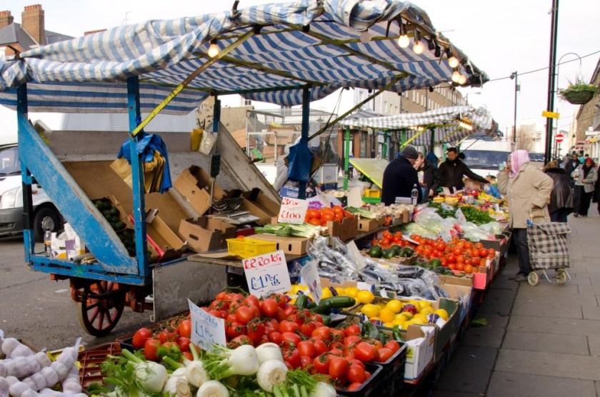 Westminster Church Street market (© Voist Ltd)