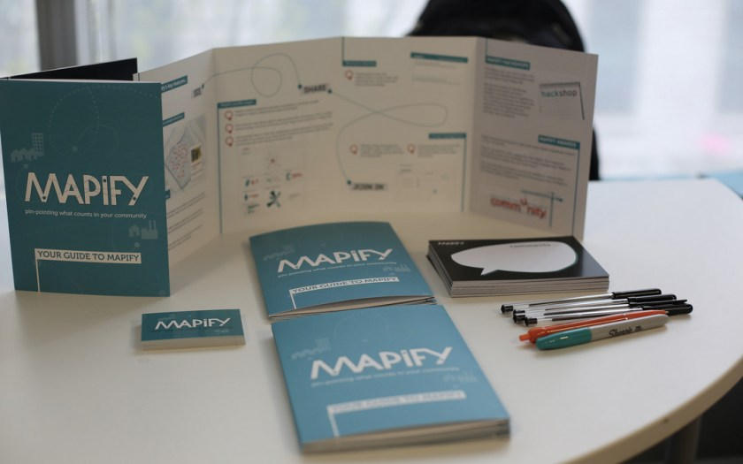The Mapify stand at Hub Westminster © Solve Together