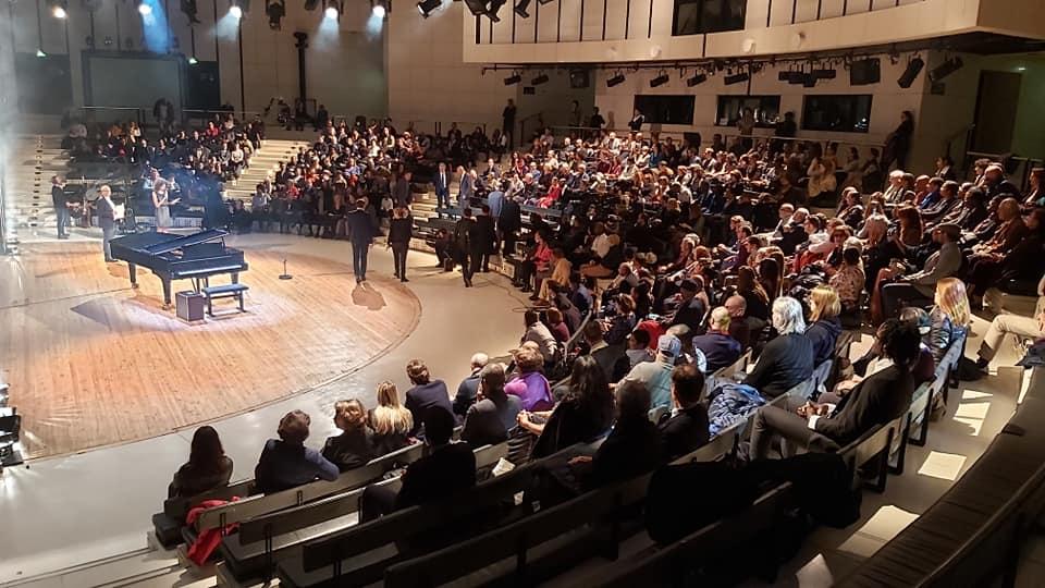 Concours Voix des Outre-mer Salle Amphithéatre de l'opéra de Paris