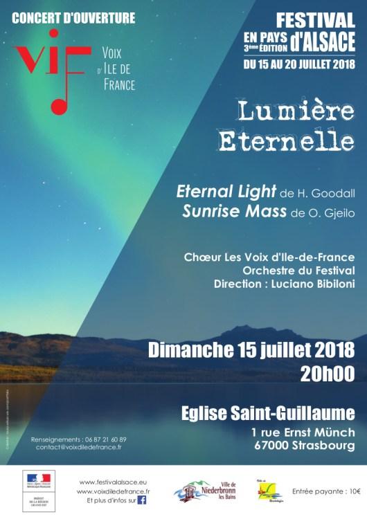 Affiche concert Lumière 15-07-2018