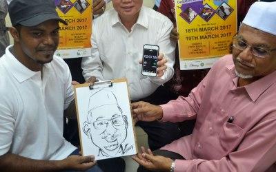 肖像漫画不仅是街头艺术