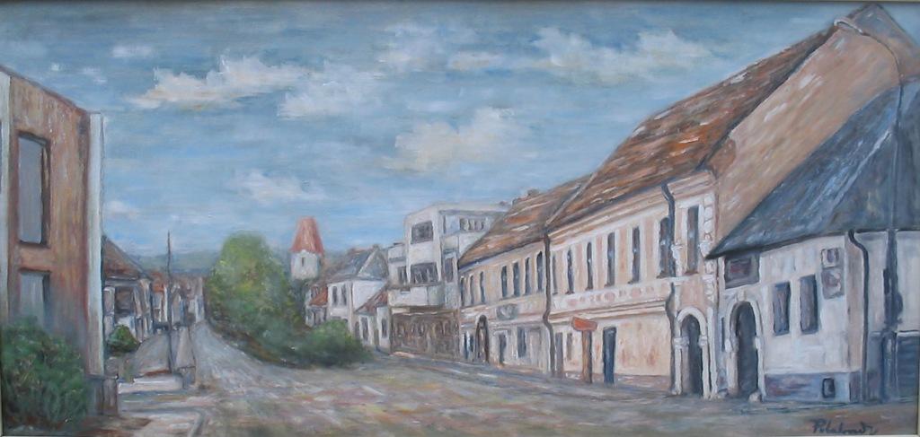 Pohľad z námestia na horný koniec
