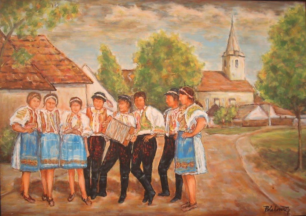 Mladí ľudia vo Vajnoroch
