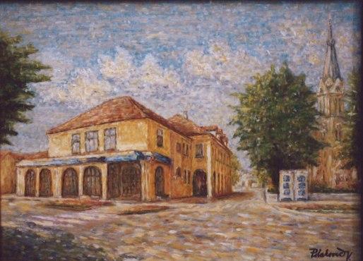 Pohľad na Miestny úrad v GolsePohľad na Miestny úrad v Golse