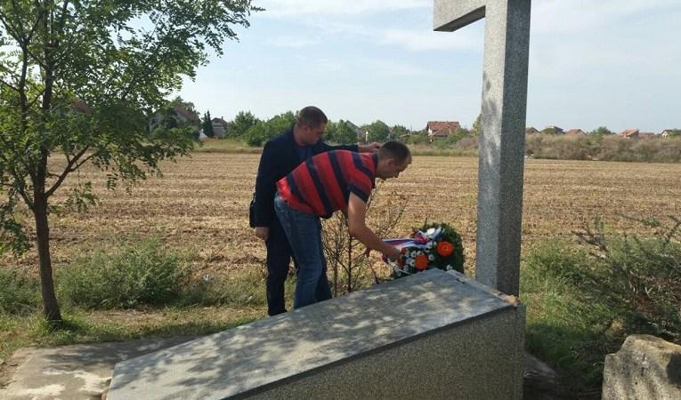 Радикали положили венац на спомен обележје страдалим Србима у Руменци