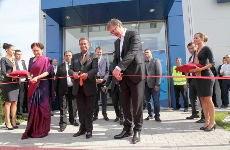 """Отворена фабрика нудли компаније """"CG Corp Global"""" у Руми"""