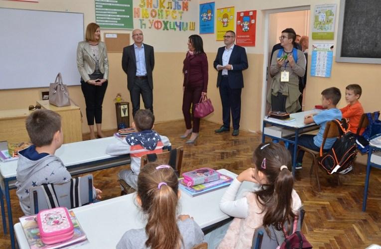Стечени услови за продужени боравак деце у Школи у Каћу