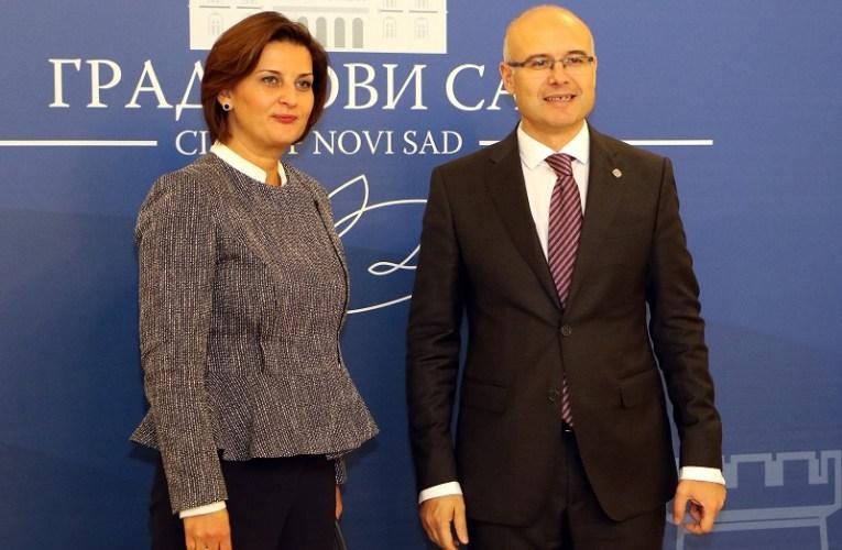 Амбасадорка Македоније посетила Нови Сад