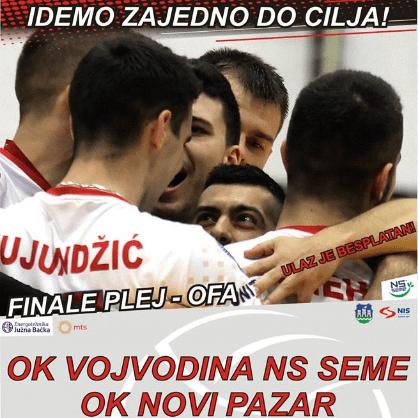 Vojvodina će se za titulu šampiona