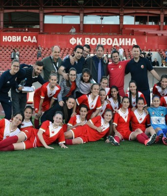 Fudbalerke Vojvodine su savladale ekipu Sloge