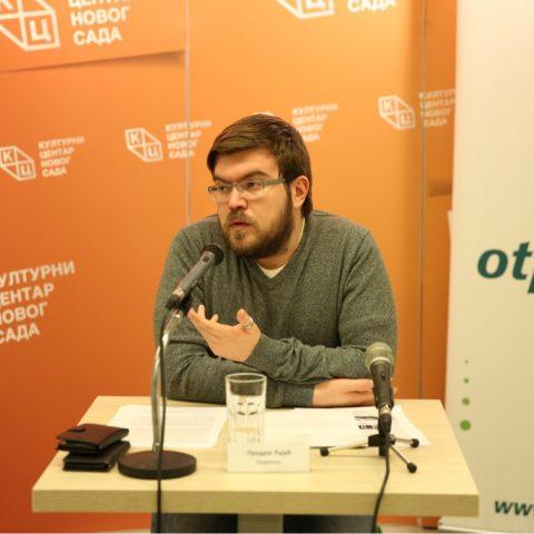 "Tribina ""Geopolitika Gruzije – Mihael Sakašvili"" 29. marta u klubu ""Tribina mladih"""