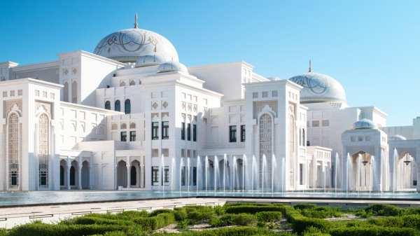 Президентский дворец Абу-Даби впервые открыли для ...