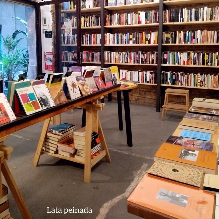 Rutas librarias. Librerias de Barcelona. Lata peinada.