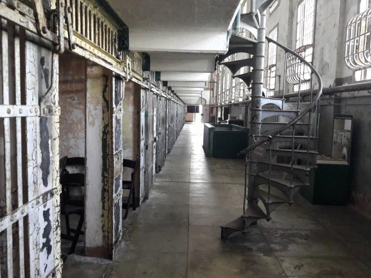 Caterina Salomone, In viaggio, USA day 3. Carcere di Alacatraz.