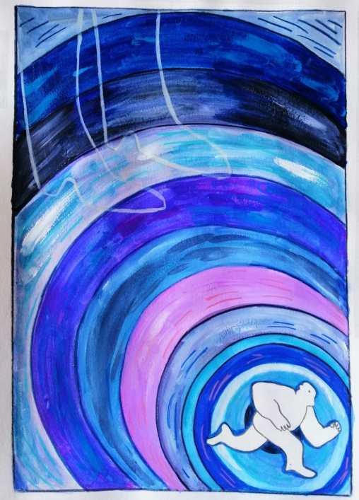Alocadas aventuras en la bahía de carga, cuento de Tony Jim, ilustrado por Jana Kalc