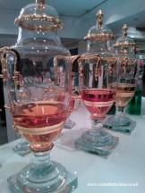 Caron perfume urns at Fortnum & Mason