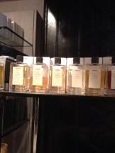 Prada perfumes at Liberty's