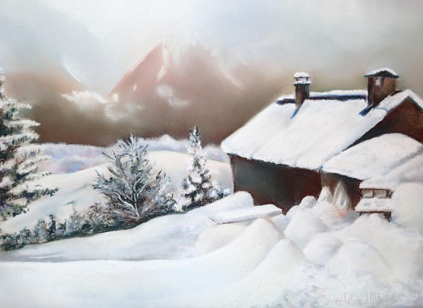 Celine-Barrier-escapade hivernale